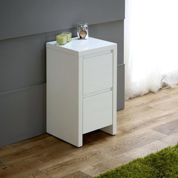 Fabulous Narrow Bedside Table With Drawers Side Table Tall Thin Bedside Cabinet Tall Narrow Console Table