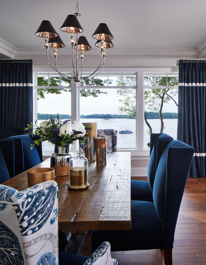 Fabulous Navy Blue Leather Dining Chairs Best 25 Fabric Dining Room Chairs Ideas On Pinterest