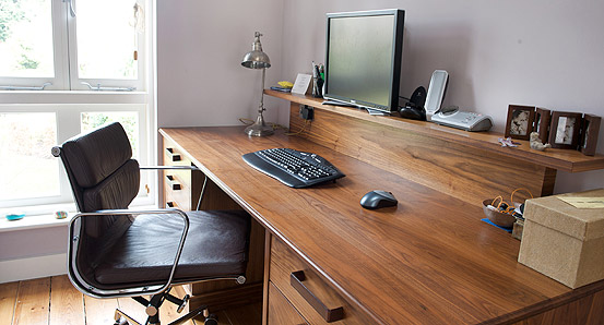 Fabulous Office Worktop Desk Home Office Furniture Bespoke Wooden Desks Base Units
