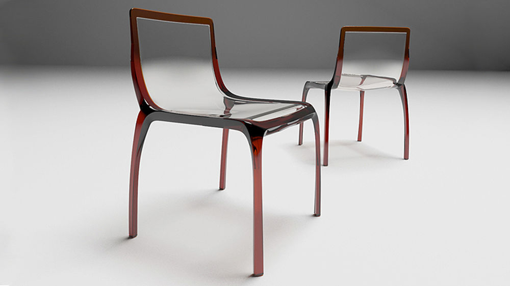 Fabulous Plastic Dining Chairs Modern Plastic Coloured Italian Designer Dining Chair Indoor Or