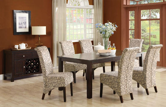 Fabulous Printed Upholstered Dining Chairs 33 Upholstered Dining Room Chairs Ultimate Home Ideas