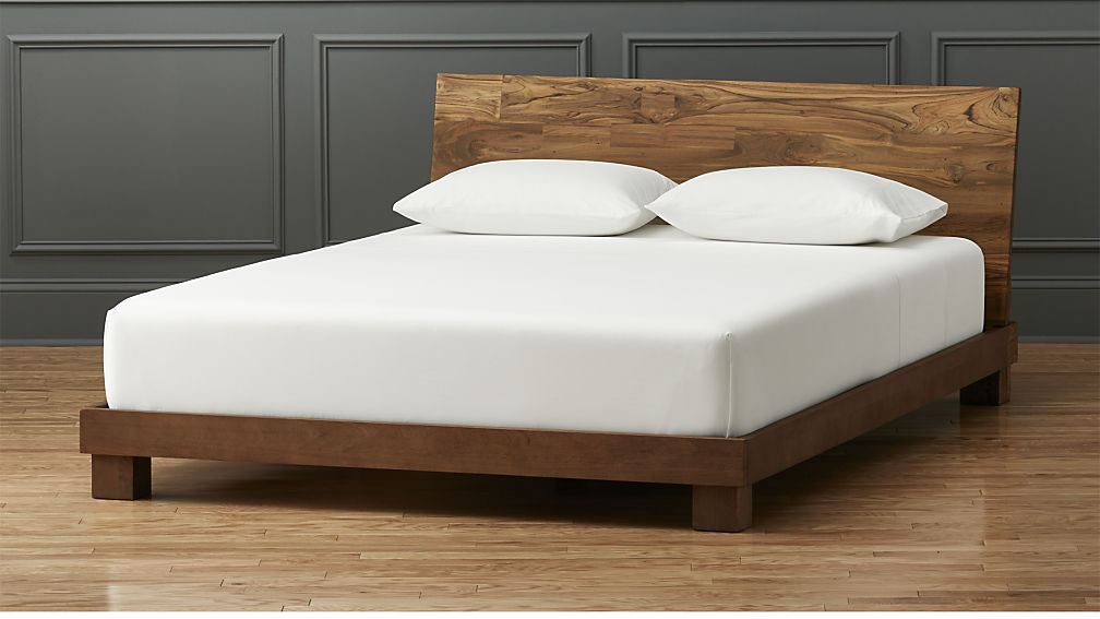 Fabulous Queen Bed And Frame Dondra Teak Bed Cb2