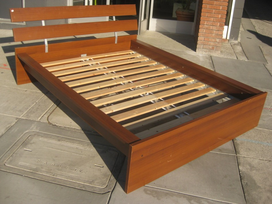 Impressive Simple Queen Size Bed Frame Cheap Easy Low Waste Platform
