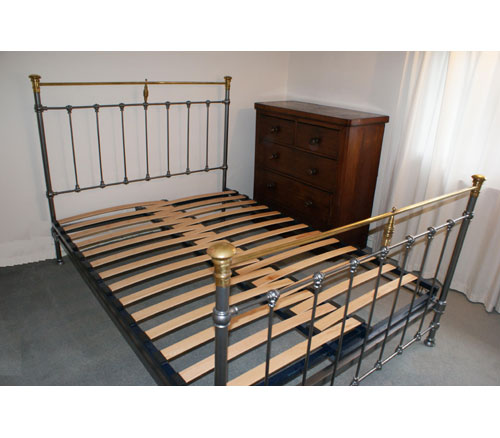 Fabulous Slatted Bed Base Double Adjustable Slatted Bed Base For Double Antique Iron Metal Beds New