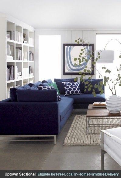 Fabulous Small Blue Sectional Sofa Best 25 Blue Couches Ideas On Pinterest Navy Couch Blue Couch