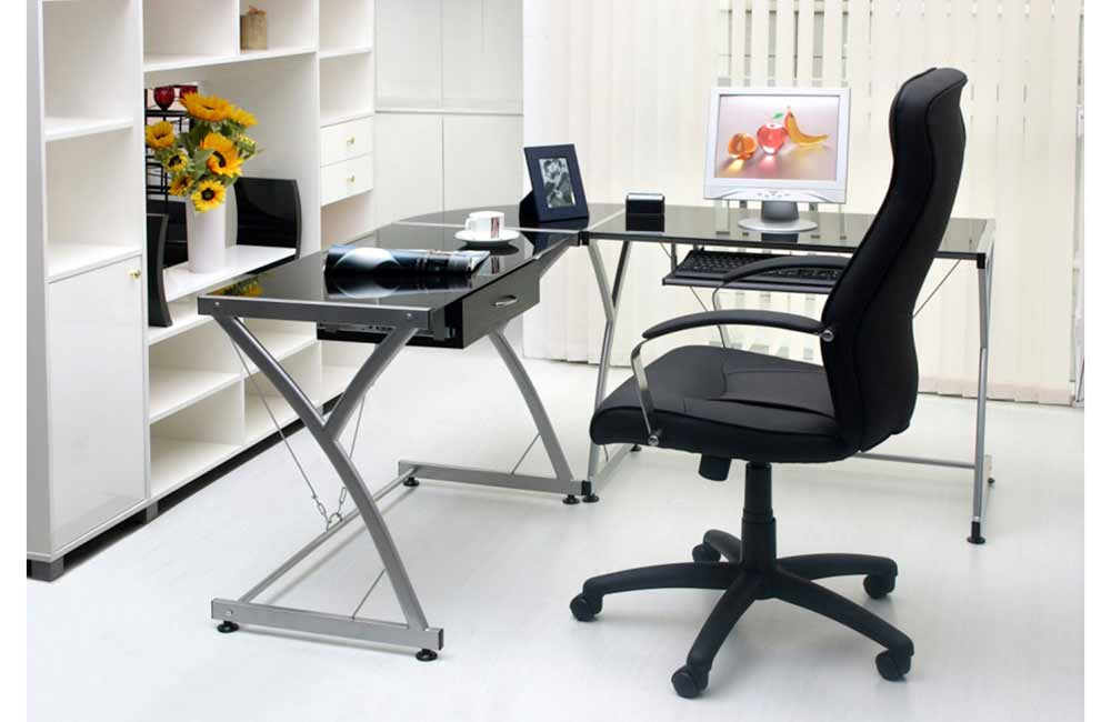 Fabulous Small L Shaped Desk Ikea Small L Shaped Glass Desk Making Cover L Shaped Glass Desk