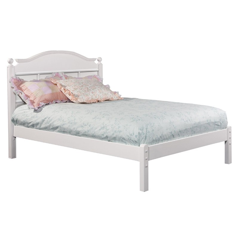 Fabulous Tall Headboard And Footboard Emma Full Bed With Tall Headboard And Low Footboard In White