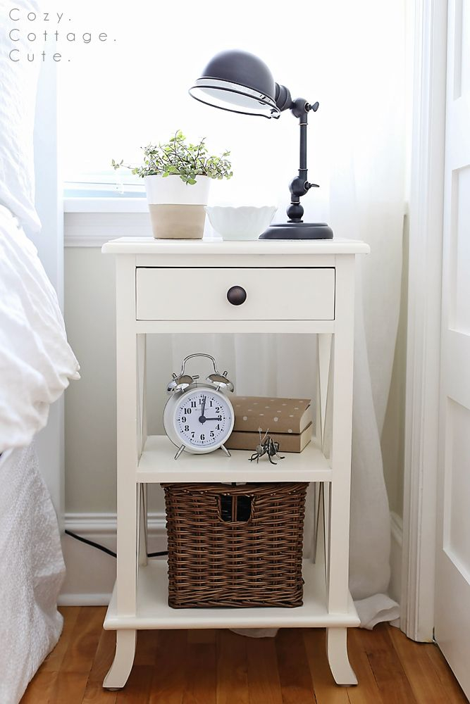 Fabulous Tall Side Tables Bedroom Best 25 White Bedside Tables Ideas On Pinterest White Bedside
