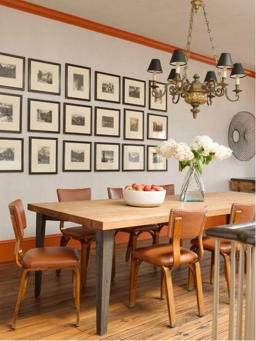 Fabulous Tan Leather Dining Room Chairs Tan Leather Dining Chair Houzz