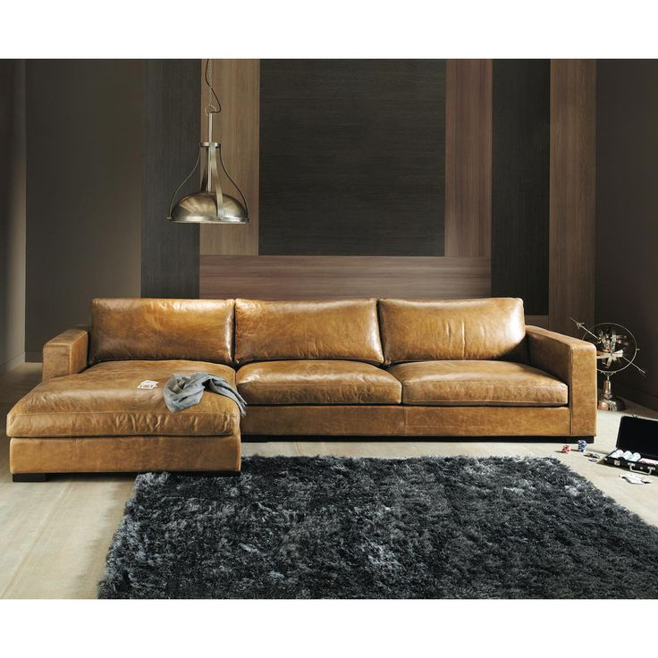 Fabulous Tan Leather Sectional With Chaise Best 25 Brown Leather Sectionals Ideas On Pinterest Leather