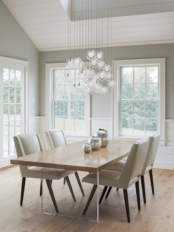Fabulous Taupe Leather Dining Room Chairs Gray Modern Leather Dining Chairs Design Ideas