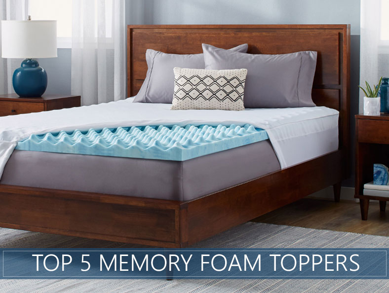 Fabulous Top Rated Mattress Pads Our 5 Highest Rated Memory Foam Mattress Topper Reviews For 2017