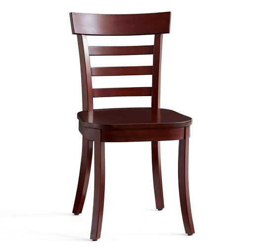 Fabulous White Wood Dining Chairs Liam Dining Chair Pottery Barn