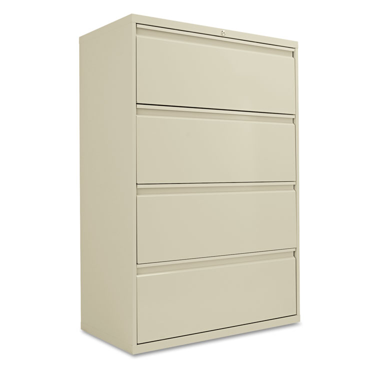 Gorgeous 1 Drawer File Cabinet Alera Four Drawer Lateral File Cabinet 36w X 19 14d X 53 14h