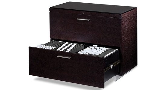 Gorgeous 2 Drawer Lateral File Cabinet With Lock Bdi Sequel 2 Drawer Lateral File Cabinet With Lock 6016