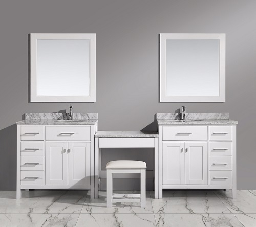 Gorgeous 24 Inch Makeup Vanity Bathroom Makeup Vanity Building A Makeup Station From Modular Parts