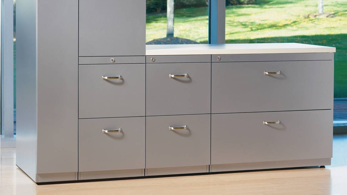 Gorgeous 28 High File Cabinet Ts Series Lateral File Cabinets Storage Steelcase