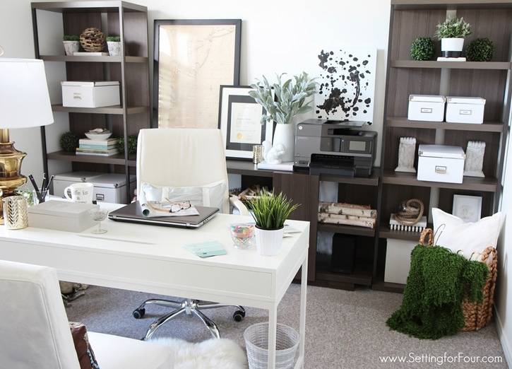 Gorgeous Affordable Home Office Desks Home Office Furniture Ideas With Storage Setting For Four