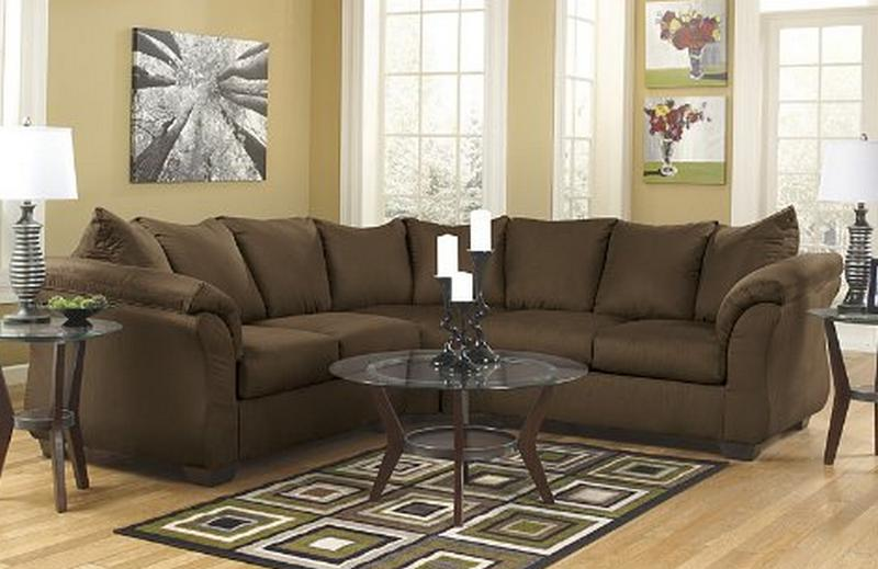Gorgeous Ashley Furniture Brown Sectional Ashley Furniture Quality Sofa Brands Which Sofa Online