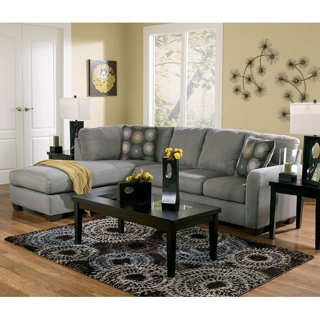 Gorgeous Ashley Furniture Living Room Sets Sectionals Zella Charcoal Sectional Living Room Set Signature Design