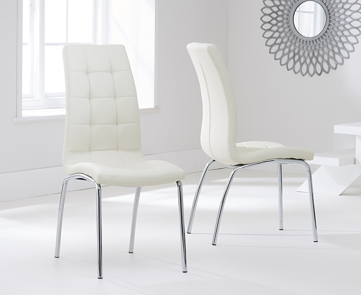 Gorgeous Black And Cream Dining Chairs Buy Mark Harris Salento 150cm Glass Dining Set With 4 California