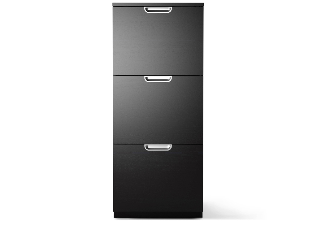Gorgeous Black Brown File Cabinet Ikea File Cabinets For The Home Roselawnlutheran