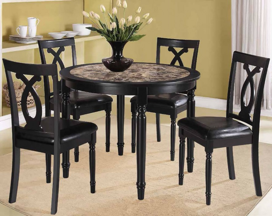 Gorgeous Black Dining Table And Chairs Set Dining Room Dining Table And Chairs For Small Rooms Compact Dining