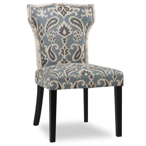 Gorgeous Blue And Gray Accent Chairs Amazing Of Paisley Accent Chair Living Room Accent Chairs Facil