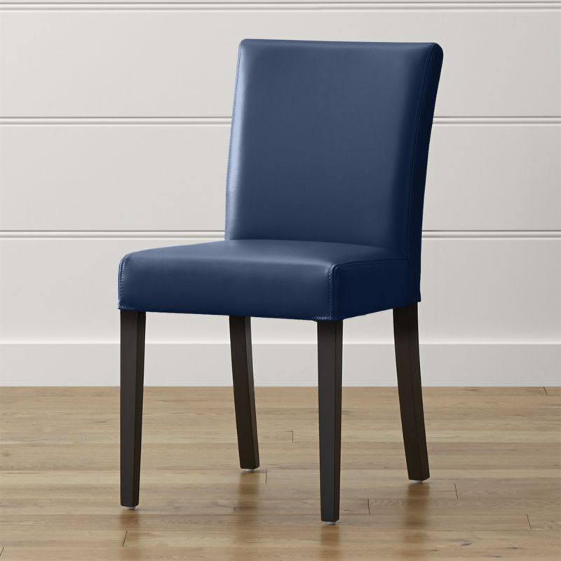 Gorgeous Blue Leather Dining Room Chairs Modern Decoration Dining Room Leather Chairs Fashionable Ideas