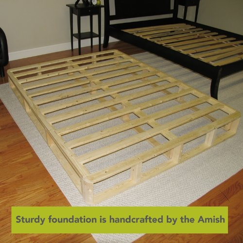 Gorgeous Box Foundation For Mattress Instant Foundation 8 Inch Easy To Assemble Box Spring For Bed