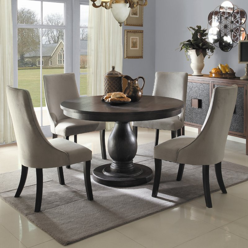Gorgeous Breakfast Room Tables And Chairs Pedestal Kitchen Dining Room Sets Youll Love Wayfair