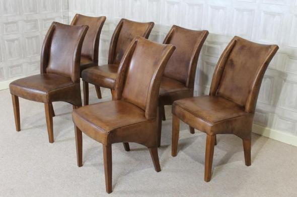 Gorgeous Brown Leather Kitchen Chairs Dining Leather Chairs In Interior Trends Tavernierspa Tavernierspa