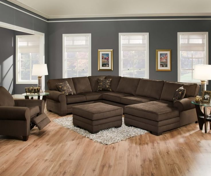 Gorgeous Brown Living Room Furniture Best 25 Brown Sectional Ideas On Pinterest Leather Living Room