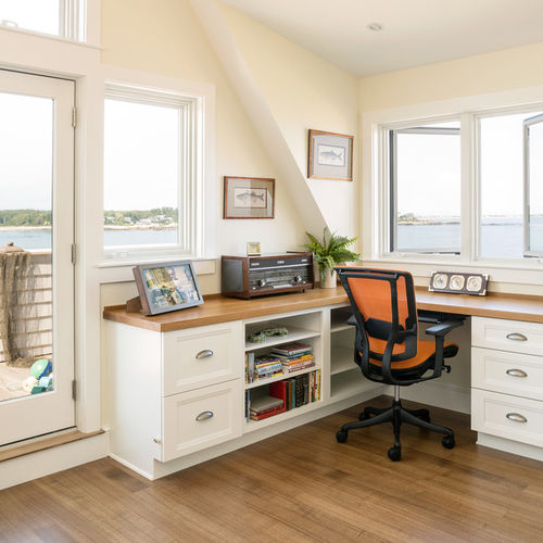 Gorgeous Built In Corner Desk Built In Corner Desk Ideas Photos Houzz
