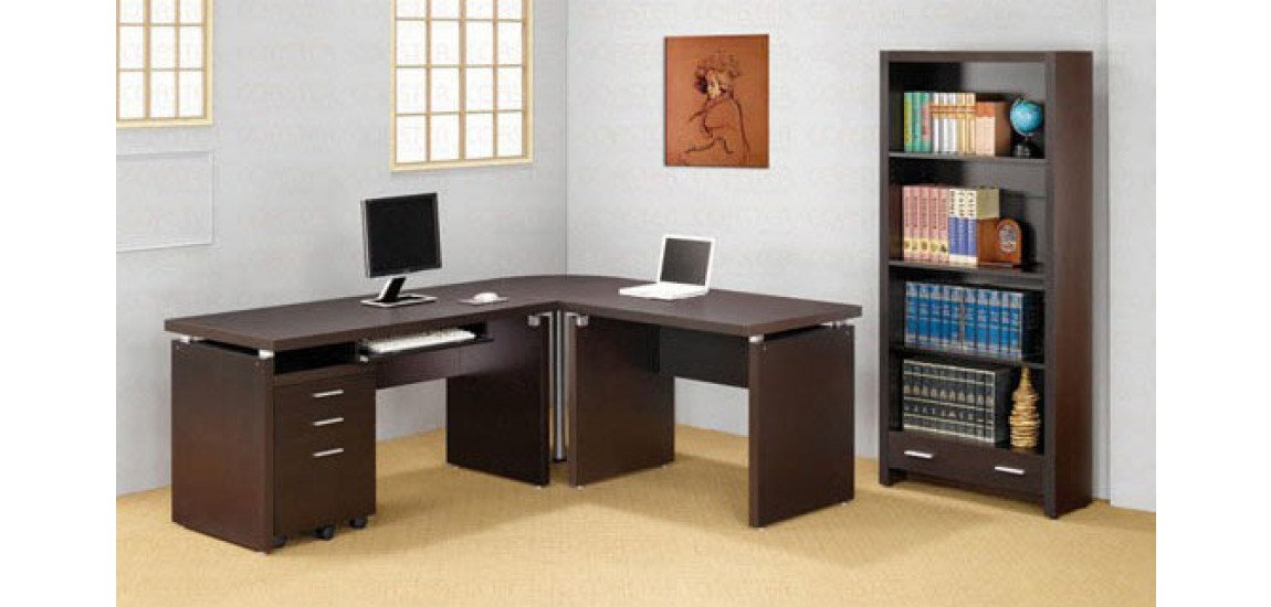 Gorgeous Computer Desk And File Cabinet Espresso L Shape Computer Desk With File Cabinet