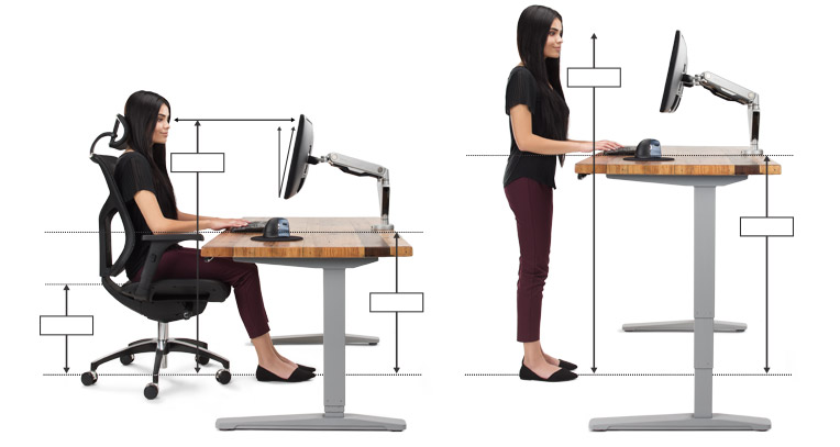 Gorgeous Computer Desk For Office Use Ergonomic Office Desk Chair And Keyboard Height Calculator