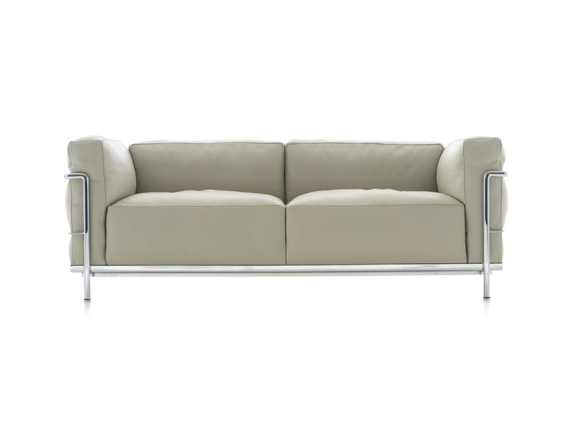 Gorgeous Contemporary 2 Seater Sofa Buy The Cassina Lc3 Two Seater Sofa At Nestcouk