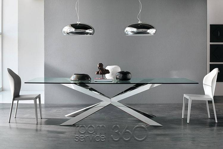 Gorgeous Contemporary Dining Table Bases Spyder Dining Table Cattelan Italia Modern Italian Table