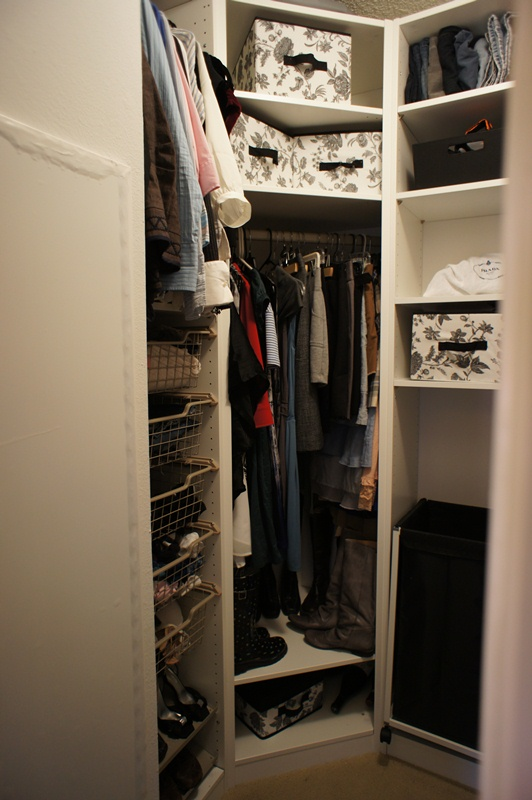 Gorgeous Corner Closet Organizer Ikea Custom Walk In Pax Closet Ikea Hackers Ikea Hackers