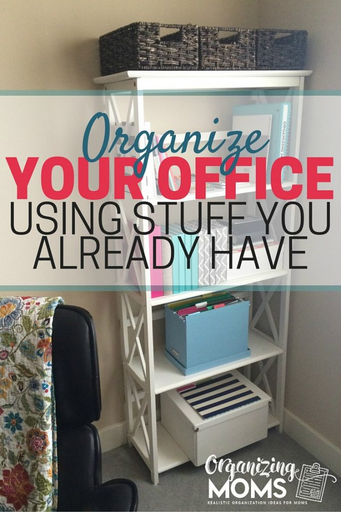 Gorgeous Design Your Desk Organizing Your Office With Stuff You Already Have Organizing Moms