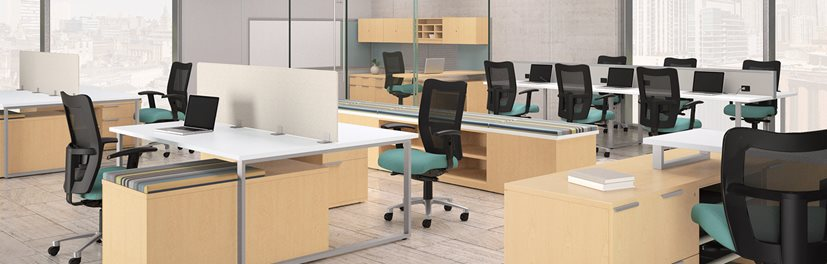 Gorgeous Desk And Office Furniture Desks Workstations Products National Office Furniture