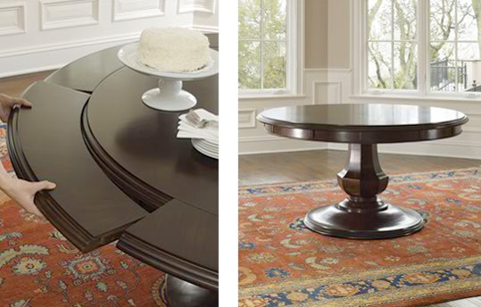 Gorgeous Dining Room Tables Round Browstone Sienna Round Dining Table