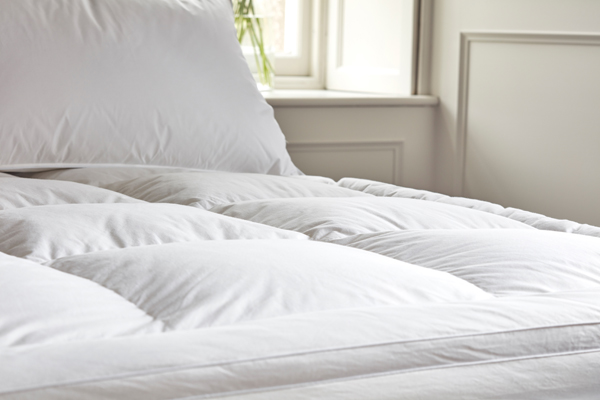 Gorgeous Down Pillow Toppers For Mattresses Goose Down And Feather Mattress Toppers The Duvet Store