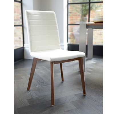 Gorgeous Faux Leather Dining Chairs Parquet Dining Chair Faux Leather Cream Dwell
