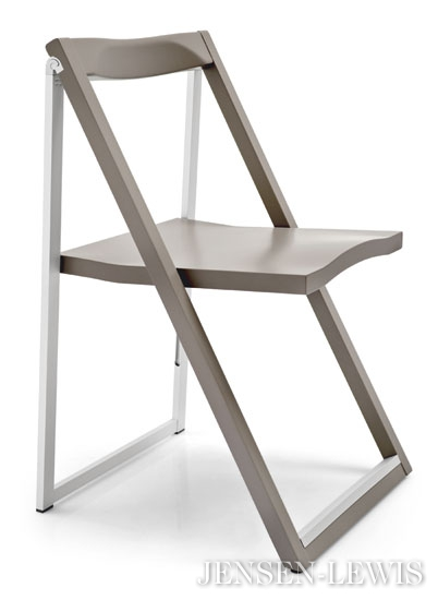 Gorgeous Folding Dining Chairs Connubia Calligaris Skip Folding Dining Chair Cs207 Jensen