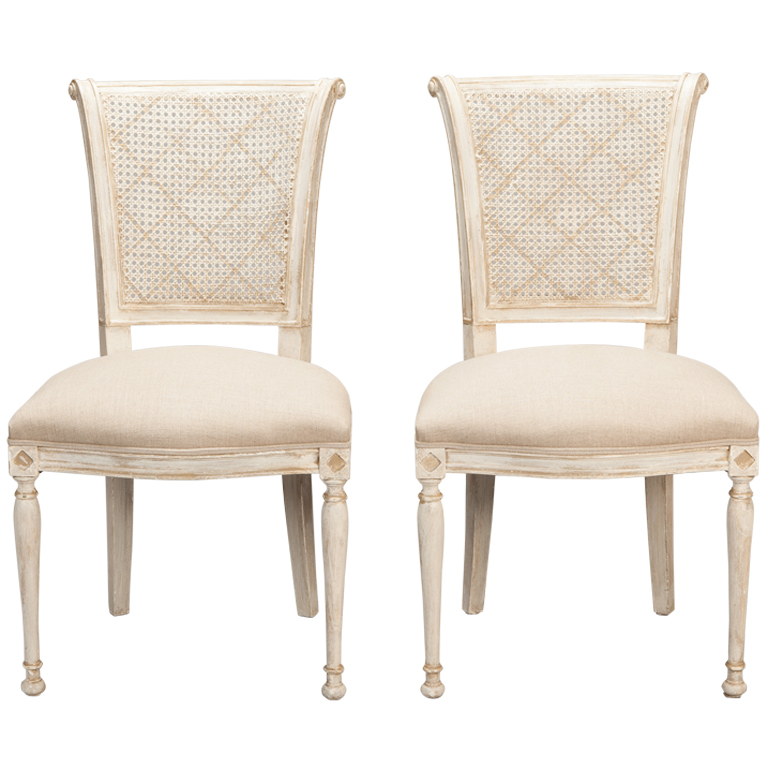Gorgeous French Dining Chairs Amazing Antique White Dining Chairs With Vintage White Dining