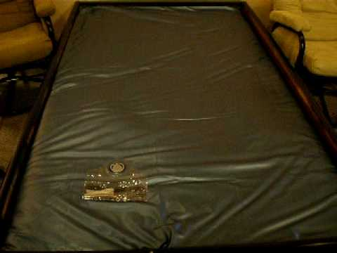 Gorgeous Full Motion Waterbed Mattress Free Flow Waterbed Motion Youtube
