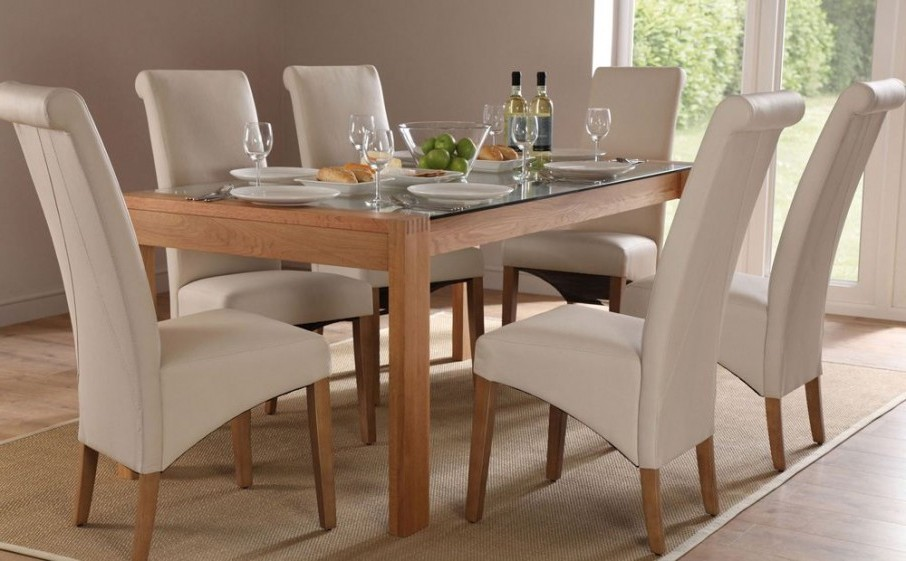Gorgeous Glass Top Dining Table Inspiration Of Glass And Wood Dining Tables And Dining Tables With