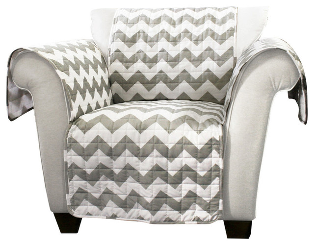 Gorgeous Grey And White Accent Chair Chevron Furniture Protectors Gray And White Armchair Armchairs
