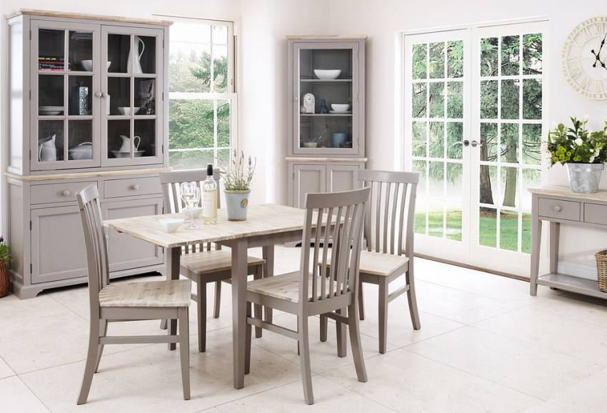 Gorgeous Grey Kitchen Chairs Statement Furniture Florence Dove Grey Matt Painted Washed